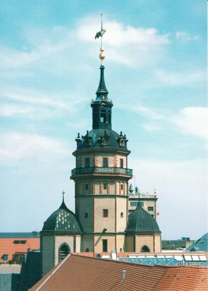 Turm der Nikolaikirche Leipzig