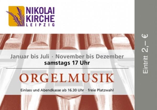 Eintrittskarte Orgelmusik