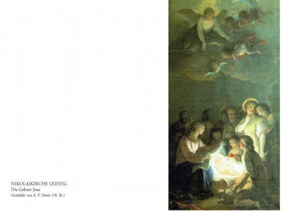 Die Geburt Jesu (Klappkarte)