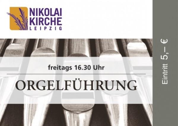 Eintrittskarte Orgelführung