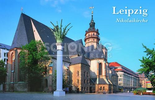 Leipzig Nikolaikirche (Magnet)