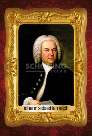 Johann Sebastian Bach (Magnet)
