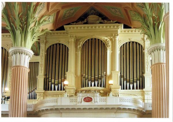 Prospekt der Orgel von Friedrich Ladegast